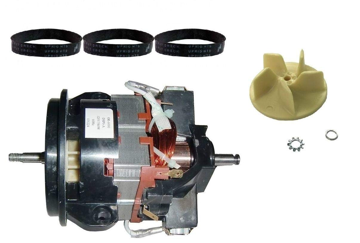 New Vacuum Pars Motor, Fan, and Belt Kit for Oreck Upright Vacuum Cleaner by New Vacuum Parts