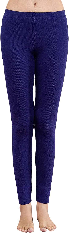Kuckuck Damen Leggins aus Bio Baumwolle Blickdichte Yoga Leggings in Vielen Farben