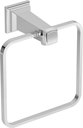 Amazon Com Symmons 423tr Oxford Wall Mounted Towel Ring In Polished Chrome Home Improvement