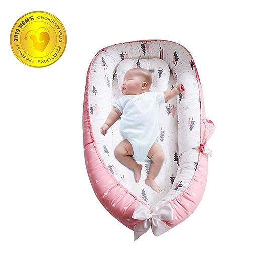 Lvbeis Baby Nido Port/átil Almohada de Edred/ón Desmontable Reci/én Nacido Cuna