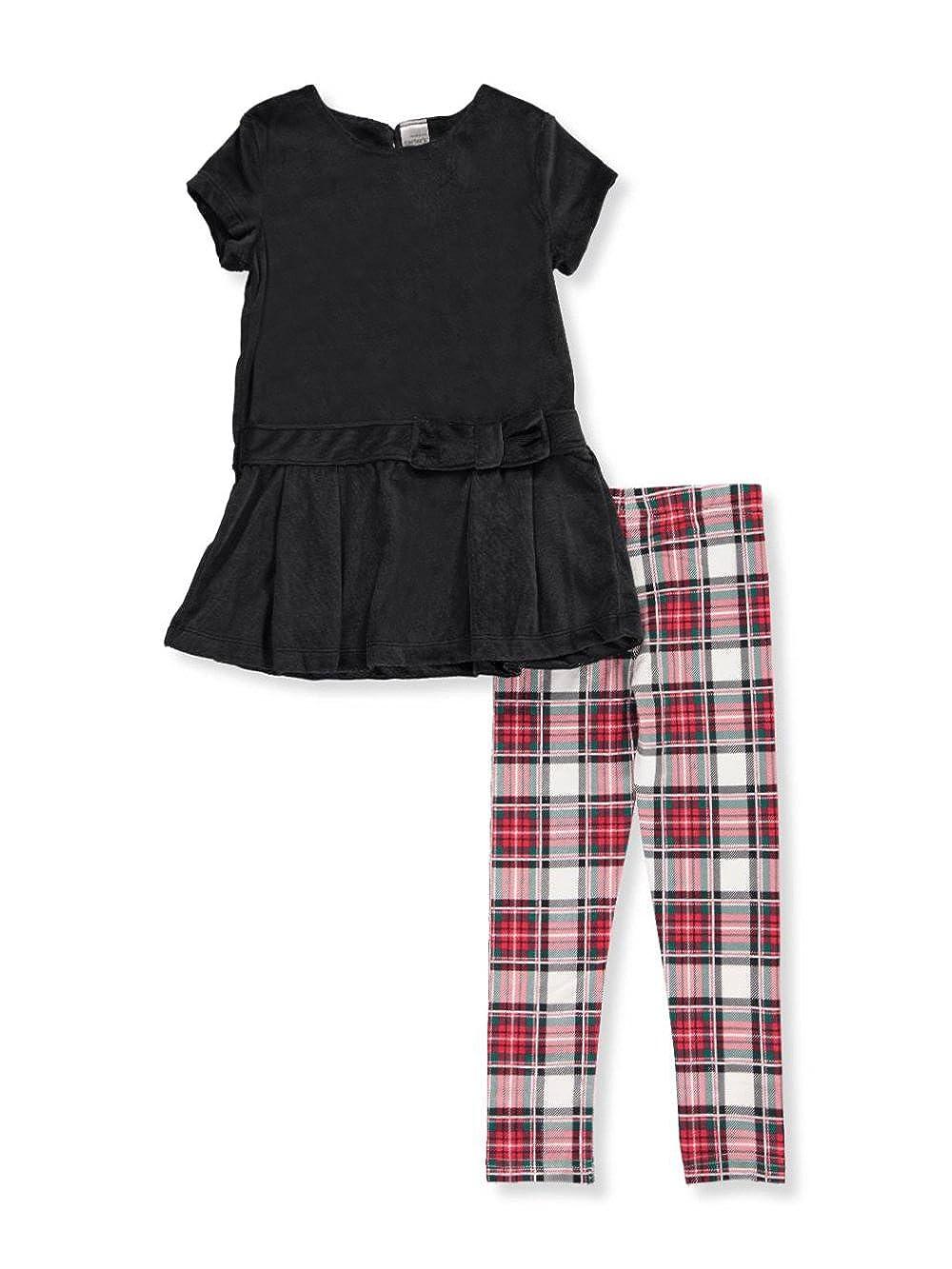 Carter's Little Girls' 2-Piece Pants Set Outfit 4 Carter' s