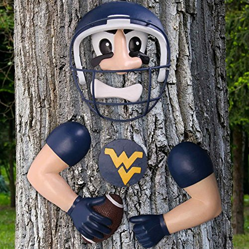 (NCAA Football Player Tree Decoration (West Virginia Mountaineers))