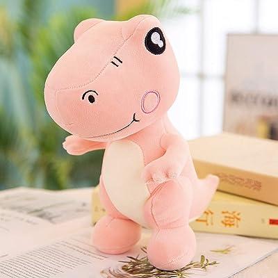 YEARYOWN Juguete de Felpa Dinosaurio de Dibujos Animados muñeca tiranosaurio niño niña Regalo de cumpleaños Navidad Mejor Regalo,Rosado,60CM: Deportes y aire libre