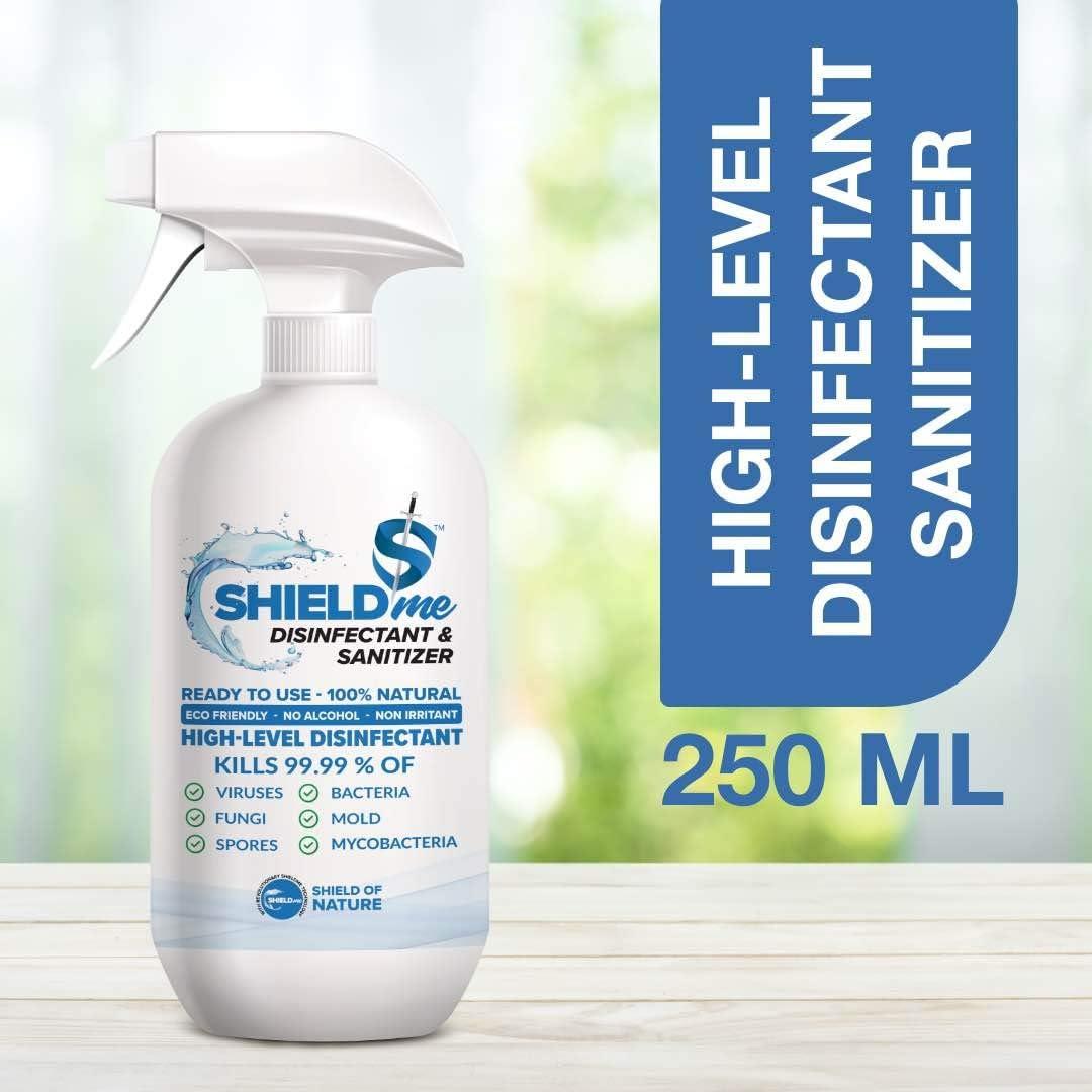 SHIELDme High Level Disinfectant & Sanitizer -250ml 2