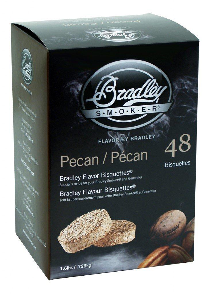 Bradley Smoker Flavor Bisquettes - Box 120 - Pecan