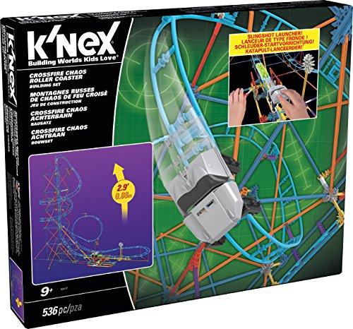 Knex Crossfire Chaos Roller Coaster Building Set