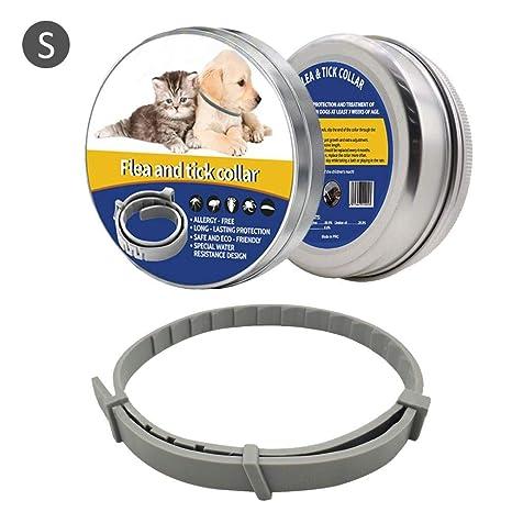 LiféUP Collar de pulgas y garrapatas Mascotas, Collar de pulgas Repelente de Insectos y Collar