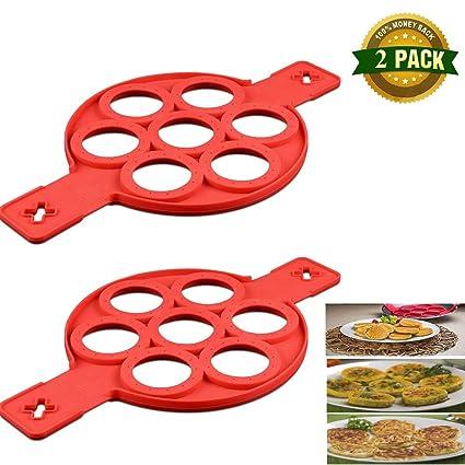 Amazon com: Pancake Mold Ring - Makes the perfect pancakes, eggs