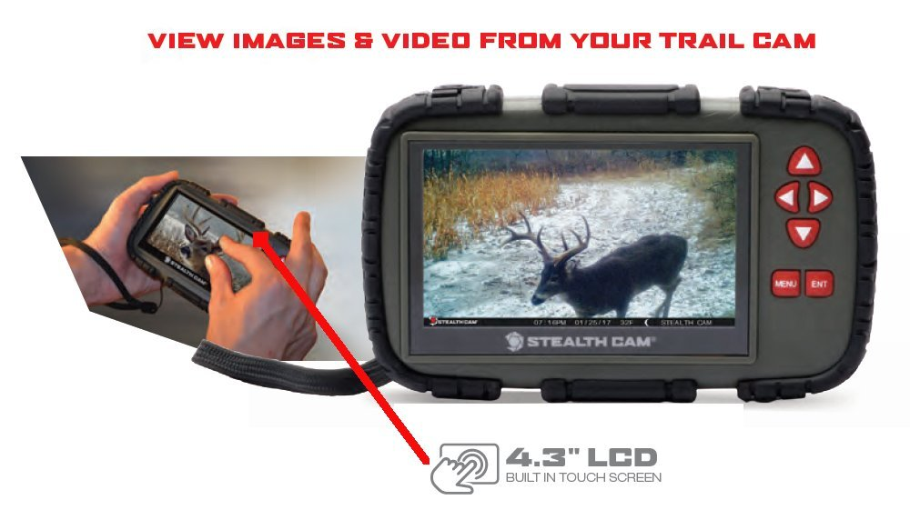 Stealth Cam SD Card Reader and Viewer with 4.3'' LCD by Stealth Cam (Image #2)