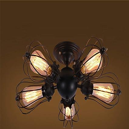 Luces de techo industriales Socket ajustable Lámparas de ...