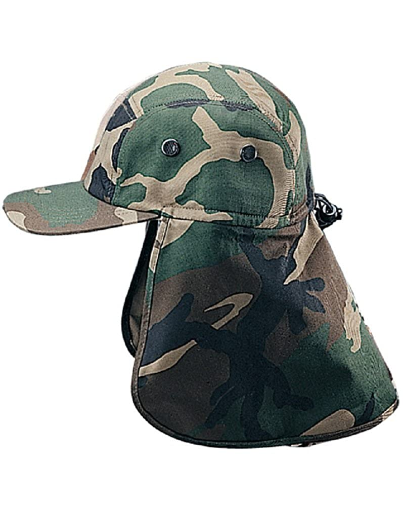d6196411d17 MG Twill Cap with Flap Hat