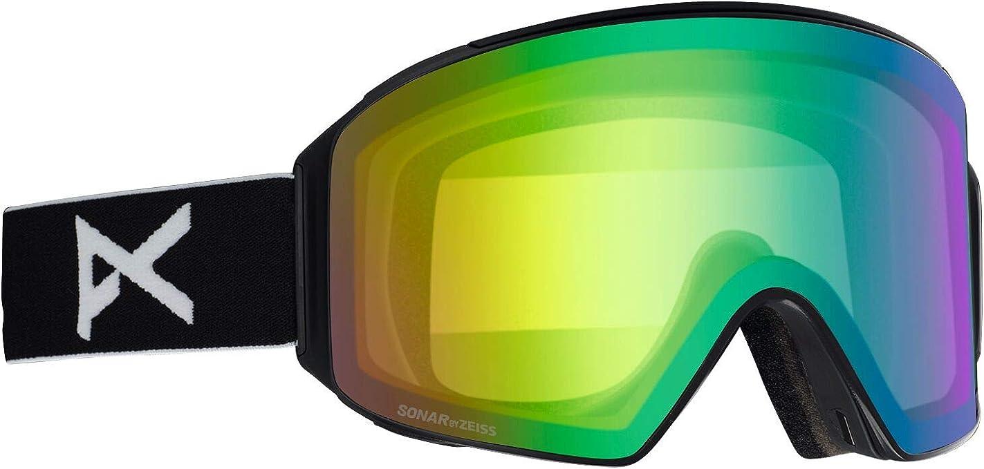 Bonus Lens ANON M3 Goggle- 2019 Model Sonar Zeiss Lens NEW MFI Facemask
