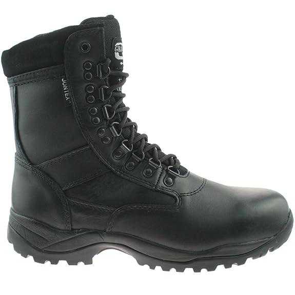 Grafters - Calzado de protección para hombre, color negro, talla UK Mens Size 3