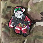 Tactical Santa Claus - Christmas Xmas Patch