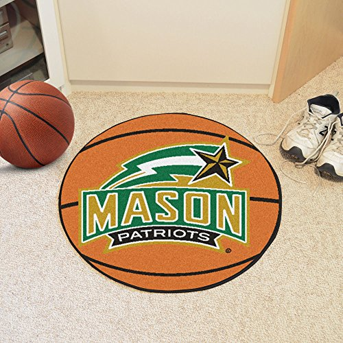 - FANMATS NCAA George Mason University Patriots Nylon Face Basketball Rug