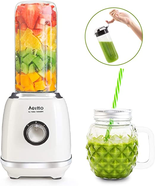 Aeitto Smoothie Maker, Mini Licuadora Multifunción, Mini batidora ...