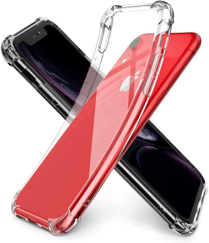 UGREEN Phone Case Compatible for iPhone XR 6.1 Inch Case Premium Clear Soft TPU Gel Slim Fit Transparent Flexible Smartphone Cover Compatible for iPhone XR 2018 Clear