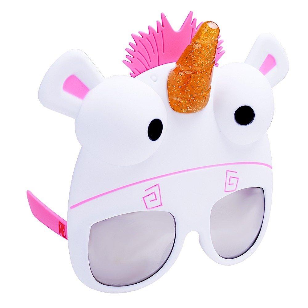 Despicable Me Fluffy Sunglasses Party Favors UV400 Sunstaches SG2581