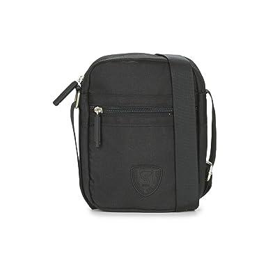 d206f98ce30 Redskins - Sacoche bandoulière pochette noire Cody format standard:  Amazon.fr: Vêtements et accessoires
