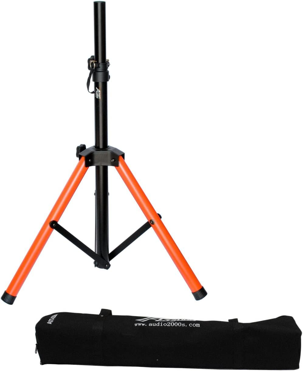Audio 2000s Short Heavy Duty Speaker Stand with Canvas Carrying Bag AST4398