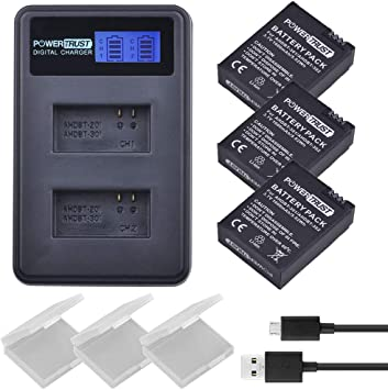 AHDBT-301 AHDBT-201 Gopro Hero 3 Battery for GoPro Hero GoPro Hero 3