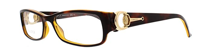 b4012bd7a97 Amazon.com  Gucci Eyeglasses GG 3553 BROWN U00 GG3553 52  Gucci ...