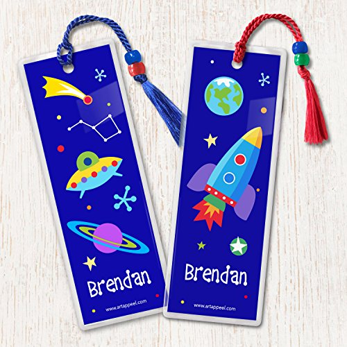 Olive Kids Out of This World Personalized Bookmark