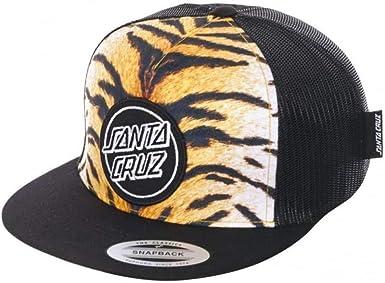 Gorra Santa Cruz: Tiger Stripe YL/BR/BK: Amazon.es: Ropa y ...