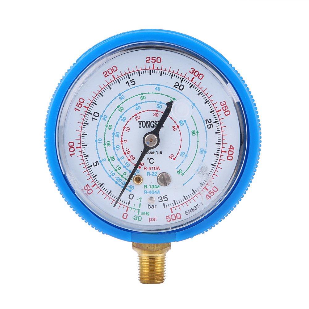 und Niederdruck Manometer Kit KIMISS Paar Klimaanlage R410A R134A R22 K/ältemittel Hoch