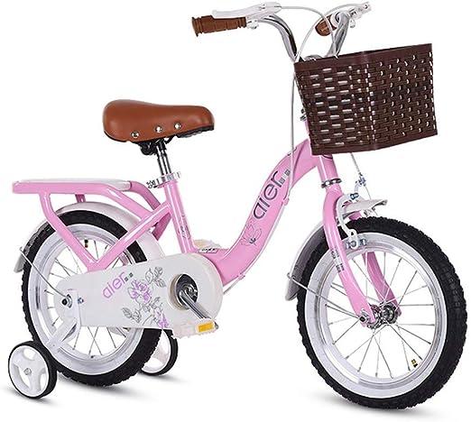 KOSGK Bicicletas Deluxe Bicicleta 2 A 10 AñOs Pedal Bebé Bicicleta ...