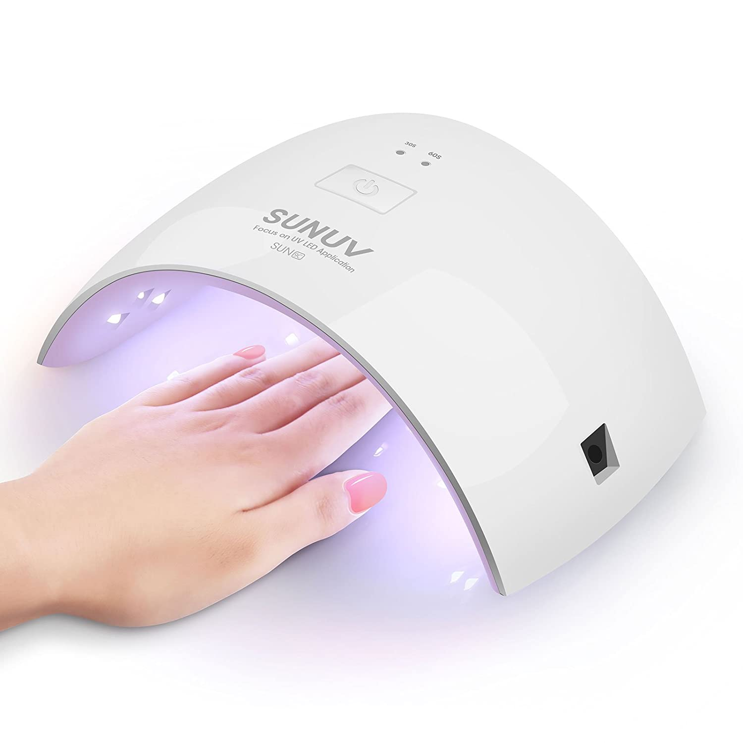 24W LED UV Nail Dryer Curing Fingernail Toenail Gels