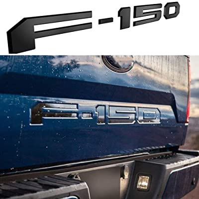 Tailgate Insert Letters for Ford F150 2020 2020 2020-3M Adhesive & 3D Raised Tailgate Decal Letters - Matte Black: Automotive