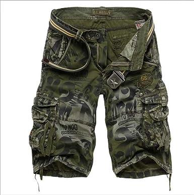 Amazon.com: Summer - Pantalones cortos de camuflaje para ...