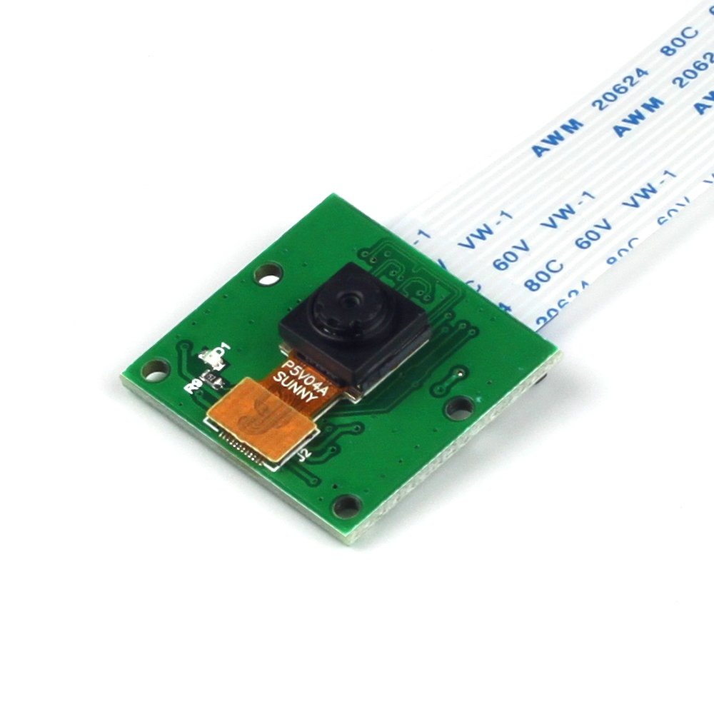Arducam 5 Megapixels 1080p Sensor OV5647 Mini Camera Video Module for Raspberry Pi Model A/B/B+, Pi 2 and Raspberry Pi 3,3B+