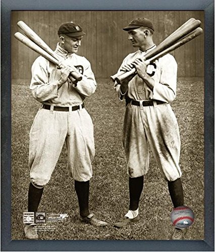 Ty Cobb & Shoeless Joe Jackson MLB Photo (Size: 17