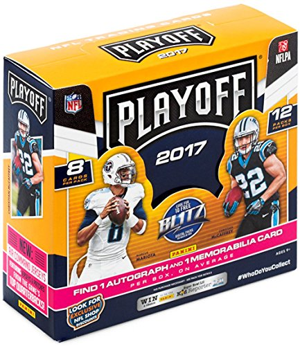 2017 Panini Playoff Football Hobby Box (12 Packs/8 Cards: 1 Auto, 1 Memo, 12 Rookies, 20 Inserts, 4 Parallels)