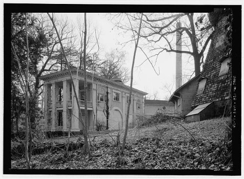 HistoricalFindings Photo: National Park Seminary,Colonial House,2745 Dewitt Circle,Silver Spring,MD,19