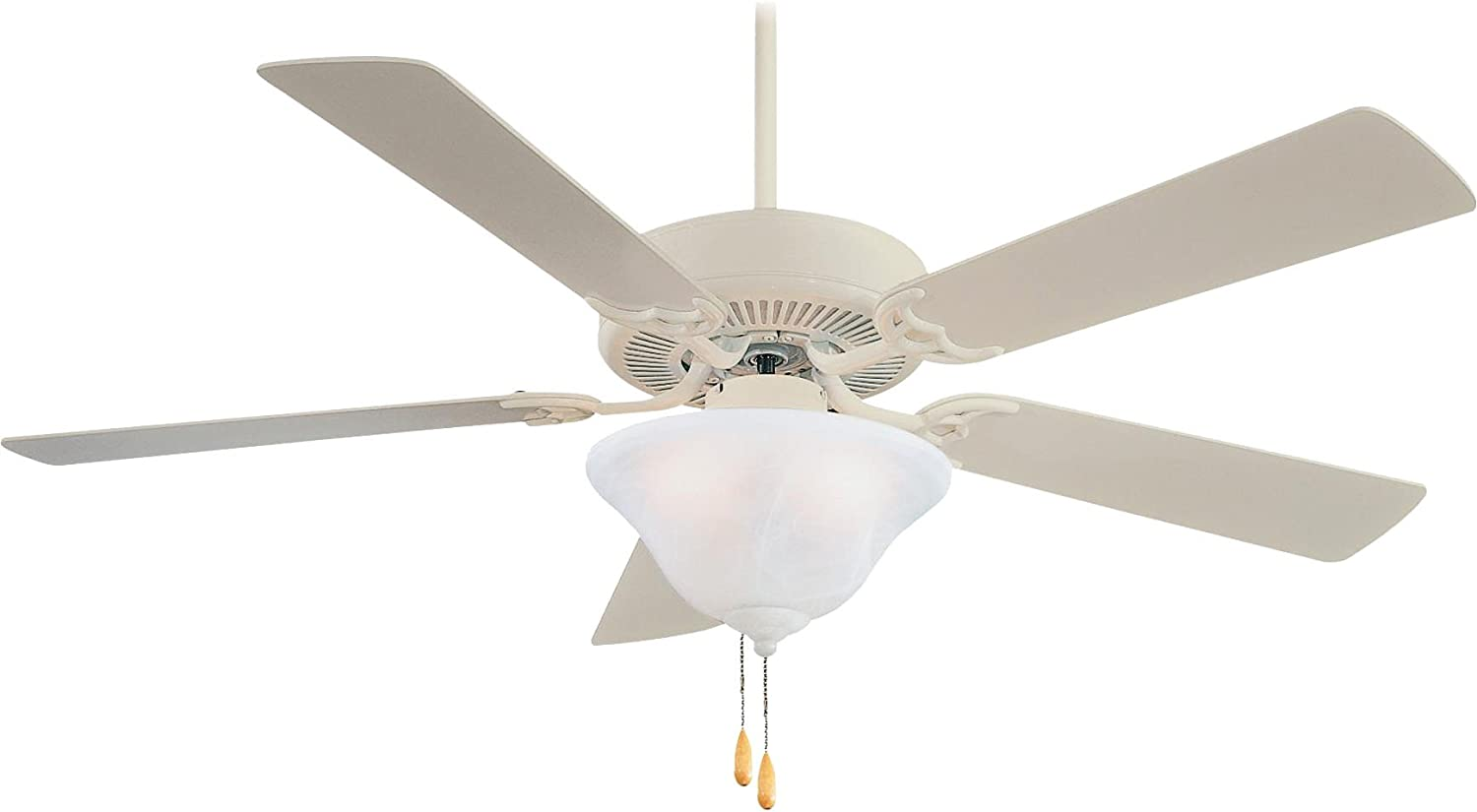 Minka-Aire F548-BS, Contractor Uni-Pack, 52' Ceiling Fan, Brushed Steel