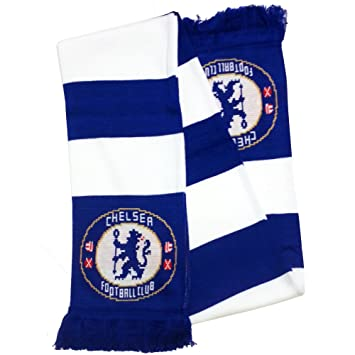 Chelsea FC – Bufanda Bufanda BUFANDA bufanda sciarpa Fútbol Fútbol Premier 418ef412626
