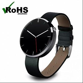 Reloj Intelligent Bluetooth Relojes de pulsera con Recordatorio Inteligente,Monitor de Calorías y Sueño,