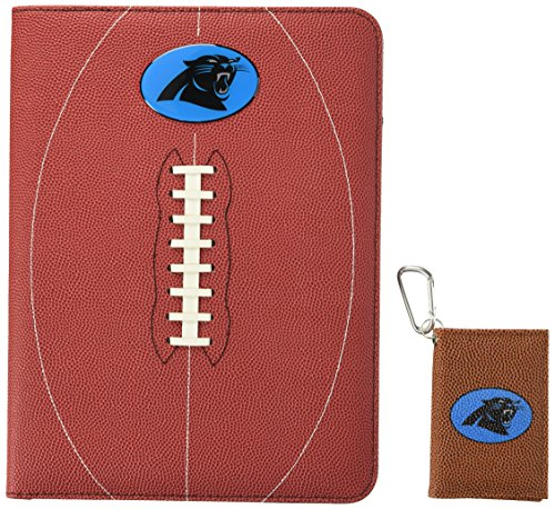 GameWear NFL Carolina Panthers Classic Football Portfolio & ID Holder Gift Pack, One Size, Brown ()