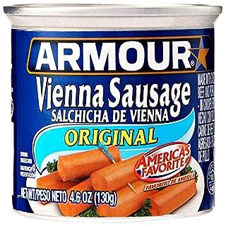 Armour Vienna Sausage, Original, Keto Friendly, 4.6 Oz, 6 ct