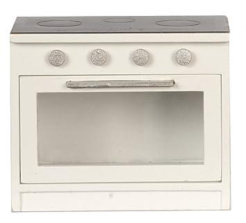 Amazon.es: Melody Jane Casa de Muñecas Negro y Blanco Cocina ...