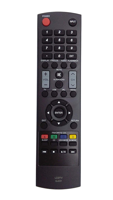 Control Remoto GJ221 Sharp LED HDTV TV LC 32D59U LC 32D59...