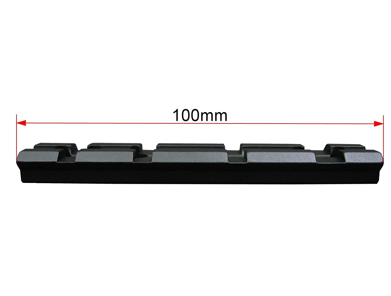 Seben Weaver Picatinny Riel 10cm Mira Telesc/ópica Montura RSM07