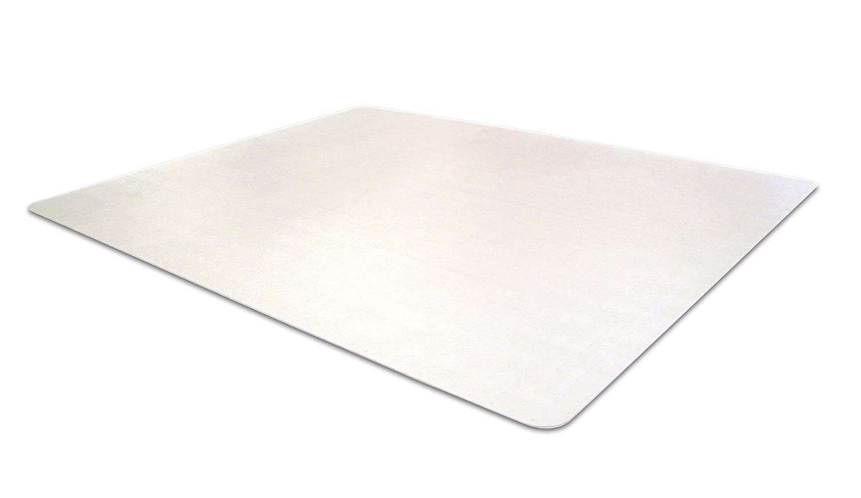 Cleartex Advantagemat Tapis protège-sol rectangulaire 120 x 300 cm chairmat pour sols durs Transparent