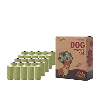Amazon.com: Dsoft - Bolsas de basura para perros respetuosas ...