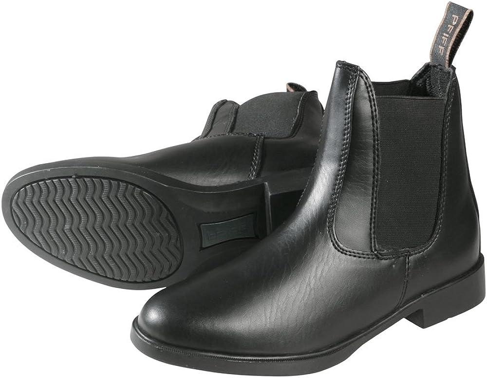 33 EU PFIFF Boots d/équitation aspect cuir Bottines d/équitation noir