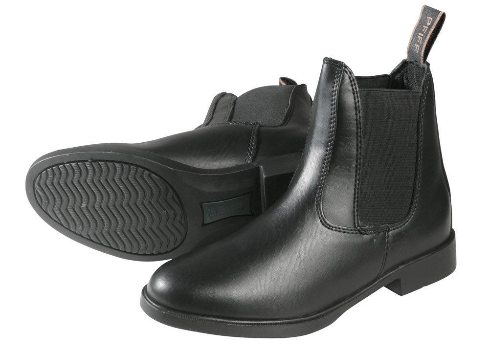 PFIFF Boots d'équitation Aspect Cuir Bottines d'équitation