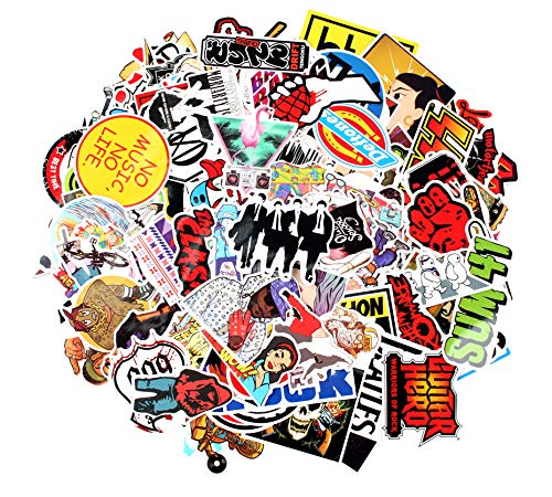 (Sticker Decals - 160 Pcs Rock Hipop Laptop Vinyl Stickers car Sticker for Snowboard Motorcycle Bicycle Phone Mac Computer DIY Keyboard Car Window Bumper Wall Luggage Decal Graffiti Patches (160 Rock))
